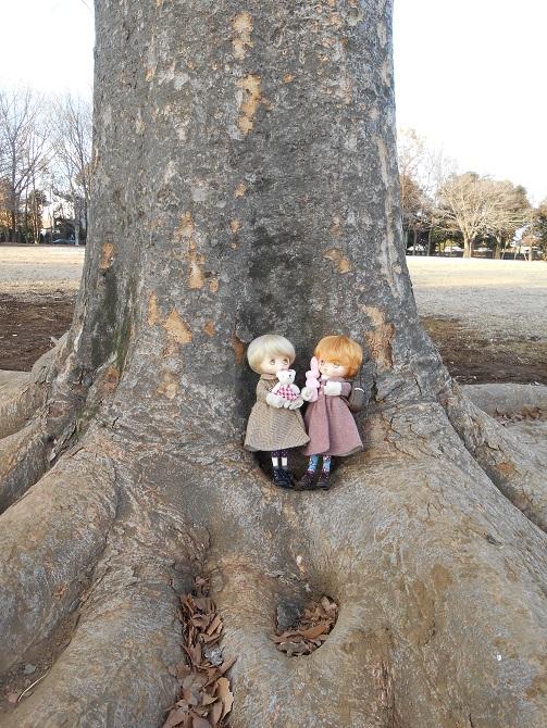 000 大きな木でのジェリ&ベリ