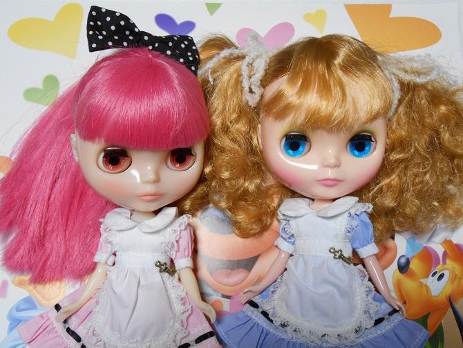 7 Pink Blue Alice