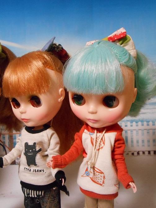 11 ミシャとリサのポニーテール