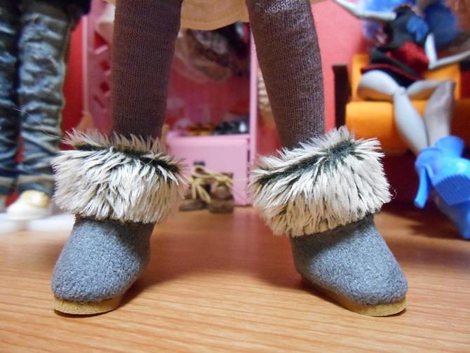 3 グレちゃんのブーツ