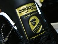 ADIDAS × APE スーパーエイプスター BLACK GOLD