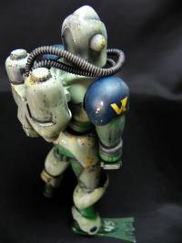 サザンクロス 海洋分隊スーツ 山下少尉