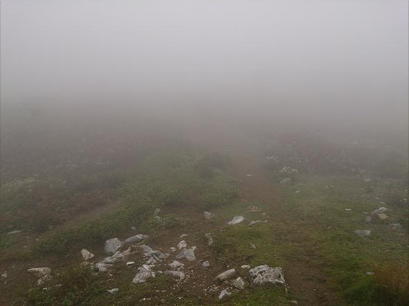 晴れない霧