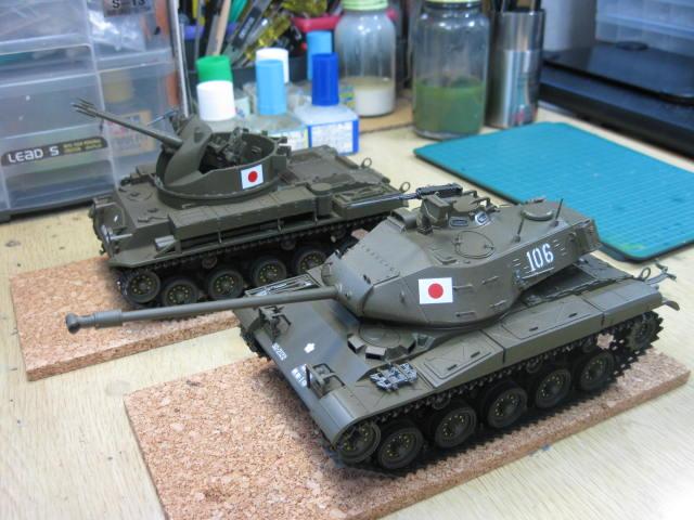M41 M42 完成・・・