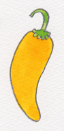 黄色唐辛子