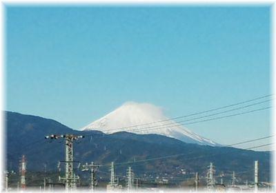 駅から見える富士山2