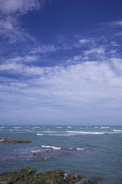 夏の空 夏の海