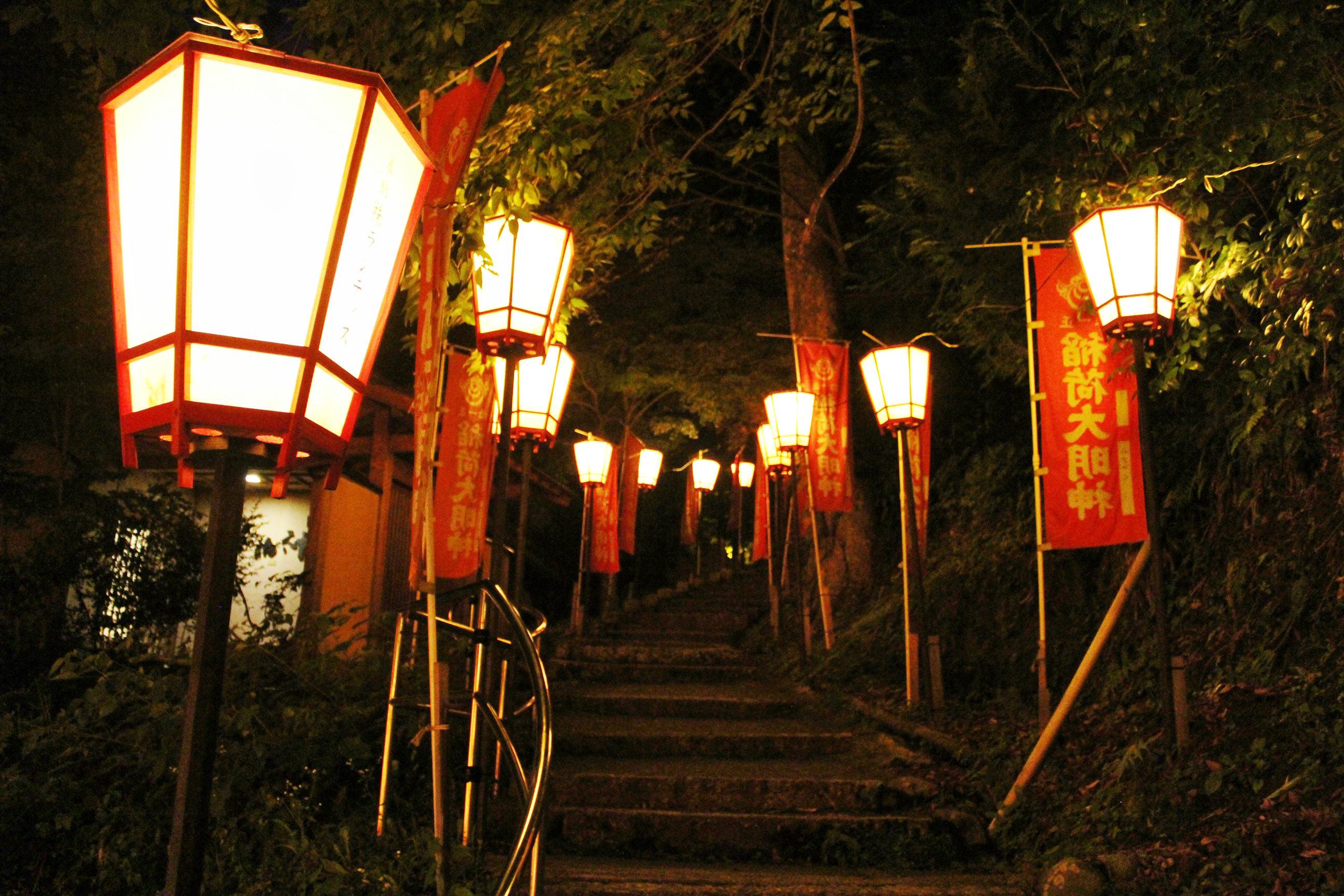 ぼんぼり祭り 点灯式 2