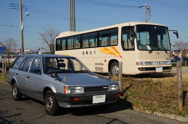 ファミリアバンと十日町市のバス
