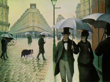 baba作 【 パリの通り雨 + ミリー 】