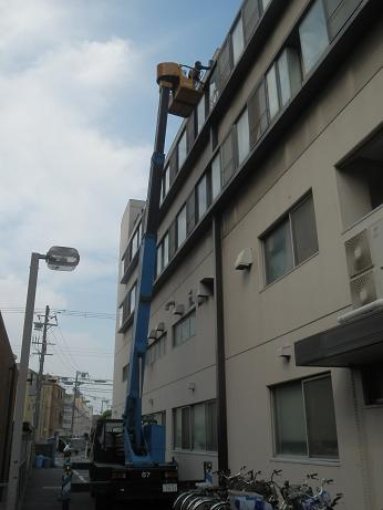成仁会病院雨漏れ修理 003