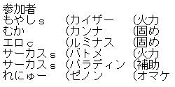 シグナス参加者
