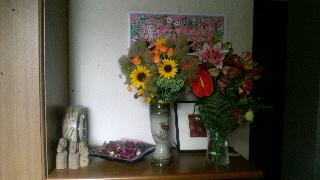 お花をありがとうございました。