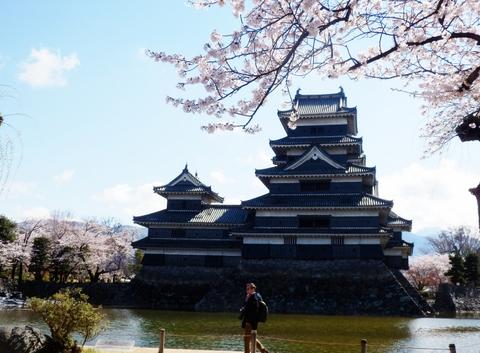 松本城桜 (48)