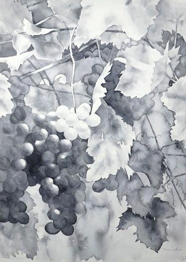 ぶどう作品展201409
