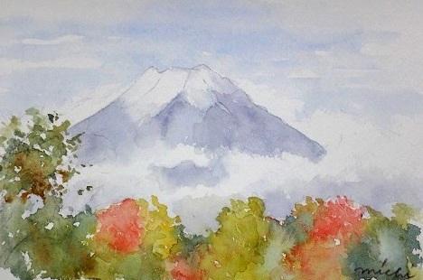 カチカチ山からの富士山A