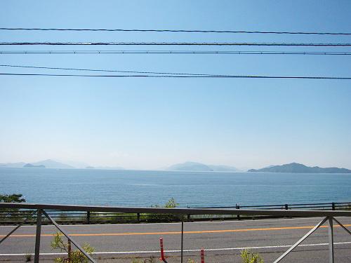 店からはキレイは海の景色♪