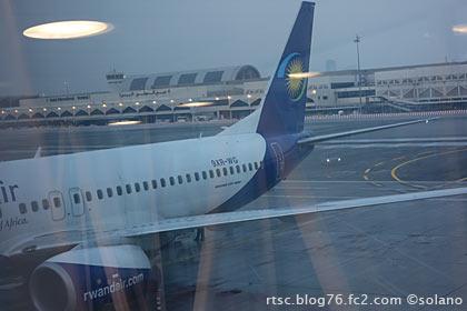 ルワンダ航空、B737-800