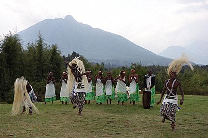 ルワンダの伝統的なダンス