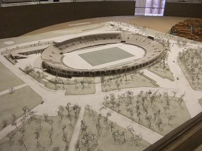 国立競技場模型