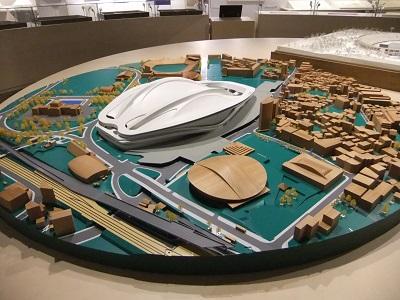 新国立競技場模型