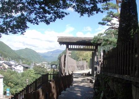 木曽福島関所西門