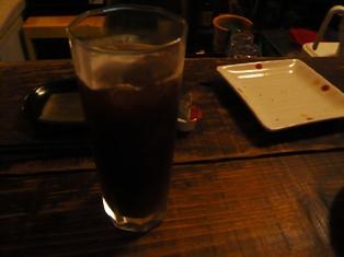 カッシーズバー:アイスコーヒー