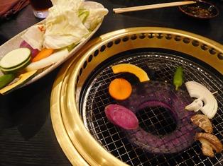 石垣牛MARU:焼き野菜セット