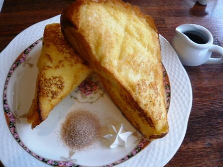 カフカ:フレンチトースト