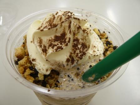 STARBUCKS COFFEE:ティラミスフラペチーノ2