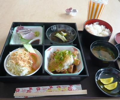 海鮮・島料理丸源:日替わり定食