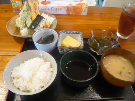 岩さん:天ぷら定食