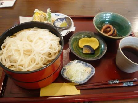 紅ほっぺ:稲庭うどんセット(冷)