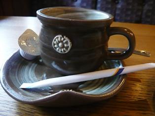 マウス:ランチのコーヒー