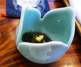 三寿司:ナスの煮浸し