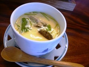 三寿司:茶碗蒸し