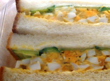 マヤー'sキッチン:ゆで玉子サンド
