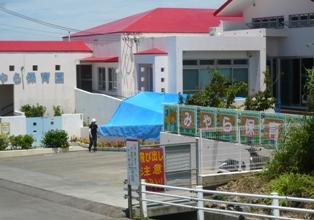 石垣島のんびりカフェ:経路(宮良保育園前)