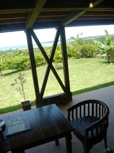 石垣島のんびりカフェ:テラス席2