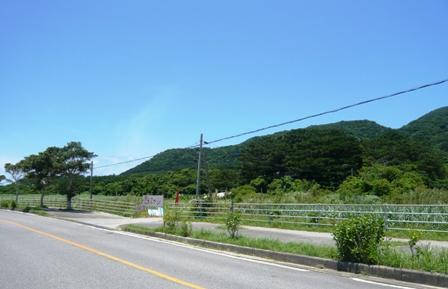 島のレストラン:道標