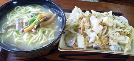 がや家:野菜炒め定食