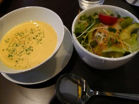 一木一草:スープ・サラダ