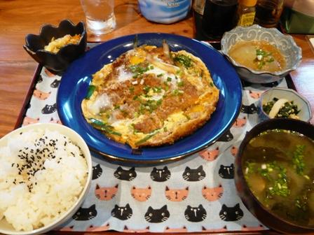 ばんちゃぬ家:カツ煮定食