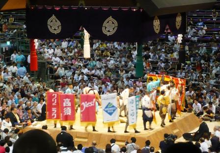 大相撲名古屋場所:懸賞金
