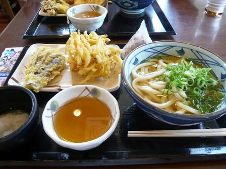 丸亀製麺:かけうどん