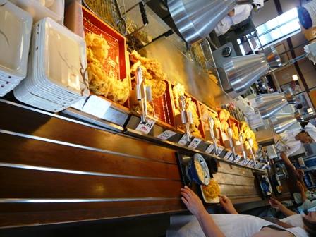 丸亀製麺:てんぷら