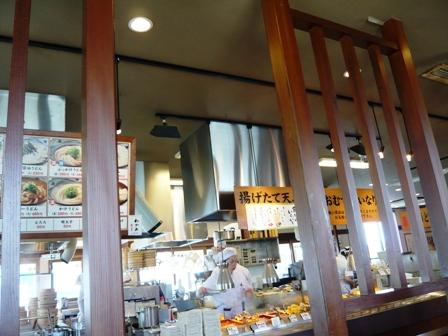 丸亀製麺:店内