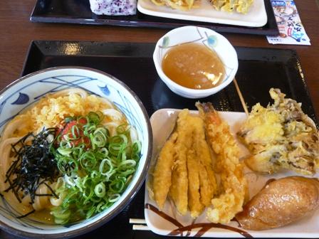 丸亀製麺:明太かま玉うどん