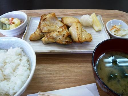 新とけい台食堂:銀かま定食