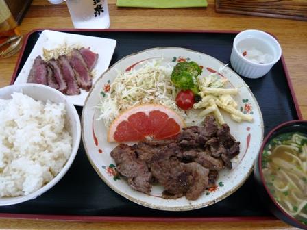 あんしん亭:焼き肉定食